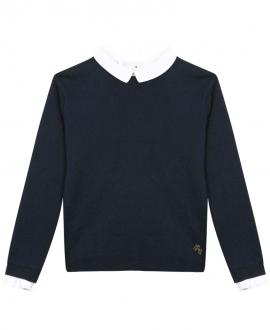 Jersey Niña TARTINE ET CHOCOLAT Marino Cuello Camisa