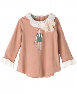 Camiseta Rosa Palo NANOS Niña