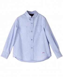 Camisa Azul NANOS Niño Bolsillos