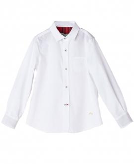 Camisa Popelin Blanco NANOS Niño