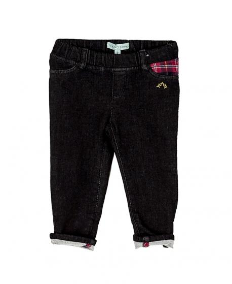Pantalon Largo Nego NANOS Bebé Niño Negro