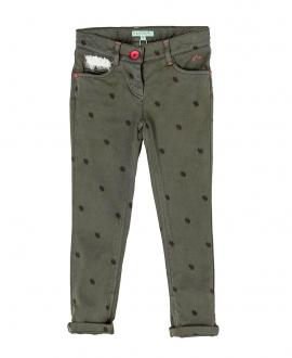 Pantalon Loneta Verde Caque NANOS NIña