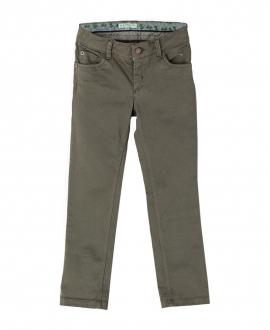 Pantalon Loneta Verde Kaki NANOS Niño