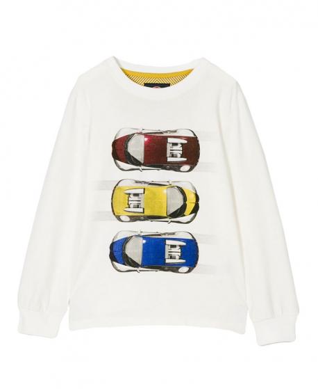 Camiseta Niño BUGATTI Tres Coches