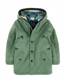 Parka ZADIG & VOLTAIRE Caqui Impermeable
