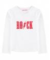 Camiseta Niño ZADIG & VOLTAIRE Blanca Rock