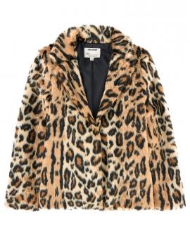 Abrigo Niña ZADIG & VOLTAIRE Estampado Leopardo