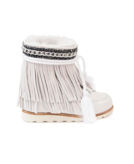 Zapatillas Niña DOLFIE Manitu Blanco
