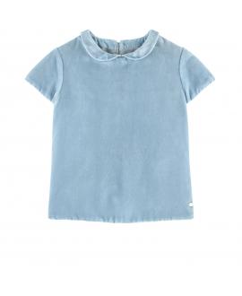 Blusa Niña TARTINE ET CHOCOLAT Terciopelo Azul