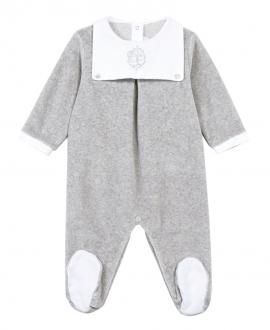 Pijama Canastilla TARTINE ET CHOCOLAT Gris