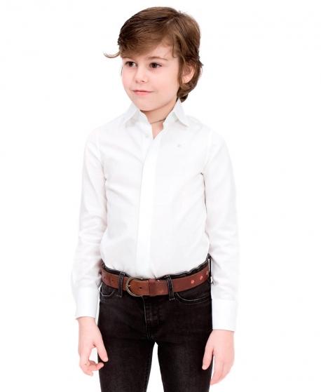 Camisa Niño CASILDA Y JIMENA Sastre Blanca
