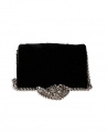 Bolso MISS GRANT Negro Perlas