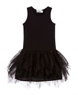 Vestido Niña SO TWEE Negro Tul