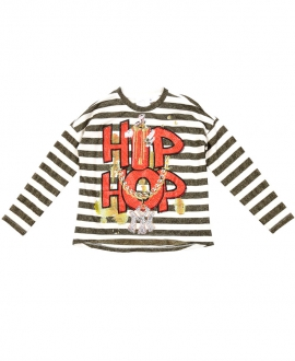 Camiseta Niña SO TWEE Rayas Hip Hop