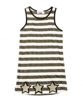 Camiseta Niña MISS GRANT Tirantes Estrellas Oro