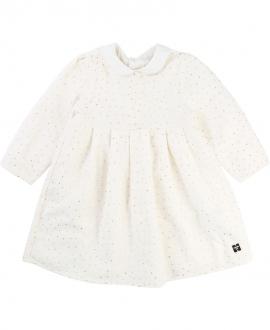 Vestido Bebe Niña CARREMENT BEAU Lunares Oro