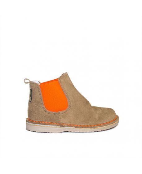 Botas Neon Boots Naranja niño