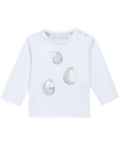 Camiseta Bebe TARTINE ET CHOCOLAT Azul Erizos