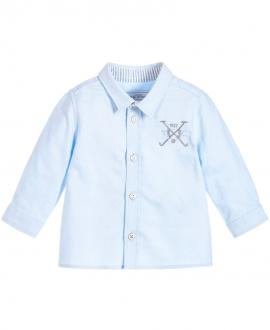Camisa Niño TARTINE ET CHOCOLAT Azul Escudo Polo