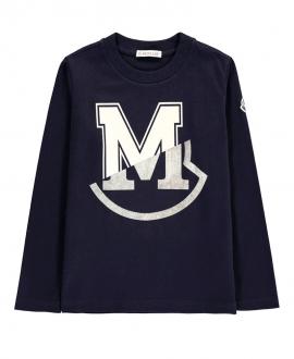 Camiseta Niño MONCLER Marino Maglia
