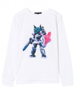Camiseta Niña FRANKIE MORELLO Robot Azul