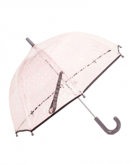 Paraguas BABY TOUS Transparente Kaos Rosa