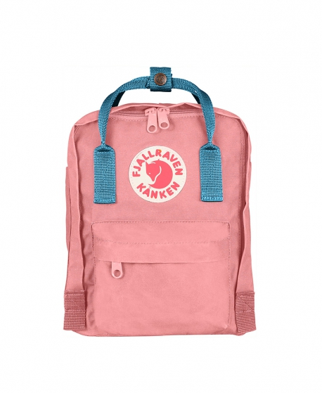 Mochila FJALLRAVEN Kanken Mini Pink Air Blue