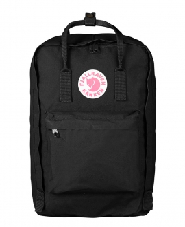 "Mochila Kanken Fjallraven Laptop 17"" Black"