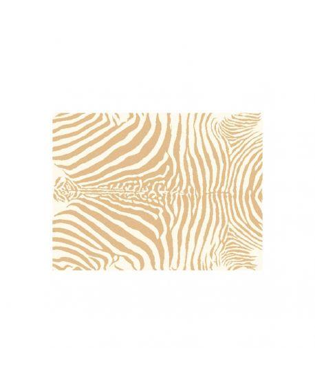 Alfombra acrílica zebra beige Lorena Canals