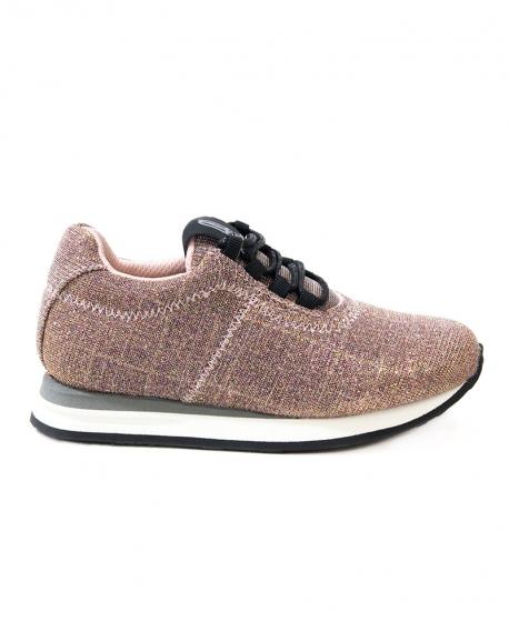 Zapatos Niña PRETTY BALLERINA Rosas Brilli