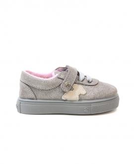 Zapatos Bebe Niña BABY TOUS Plata Brillo