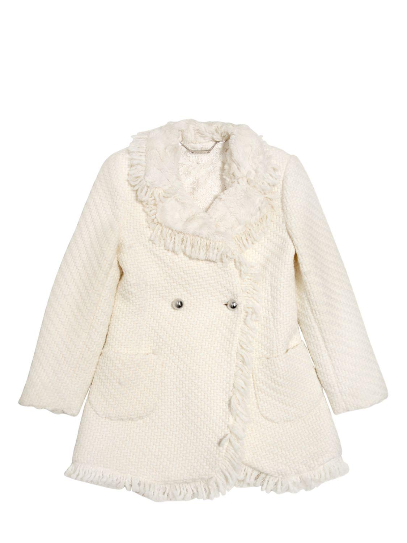 Abrigo beige para nina