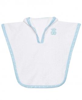 Albornoz Bebe BABY TOUS Azul Orejas