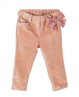 Pantalon Loneta Rosa NANOS Bebe Niña Lazo