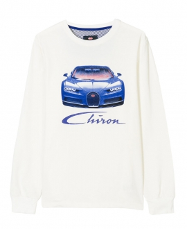 Camiseta Niño BUGATTI Chiron Azul