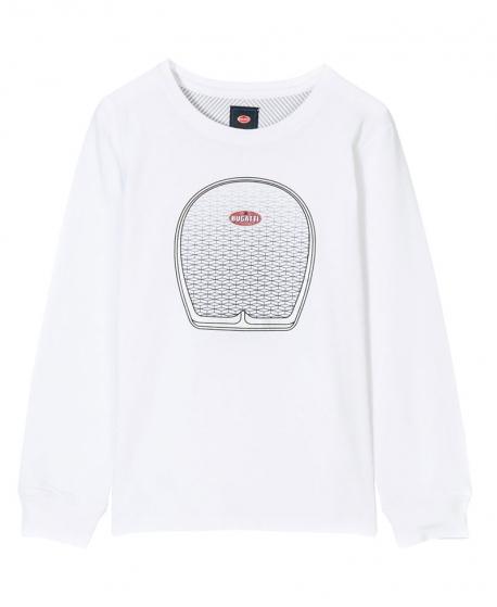 Camiseta Niño BUGATTI Blanca