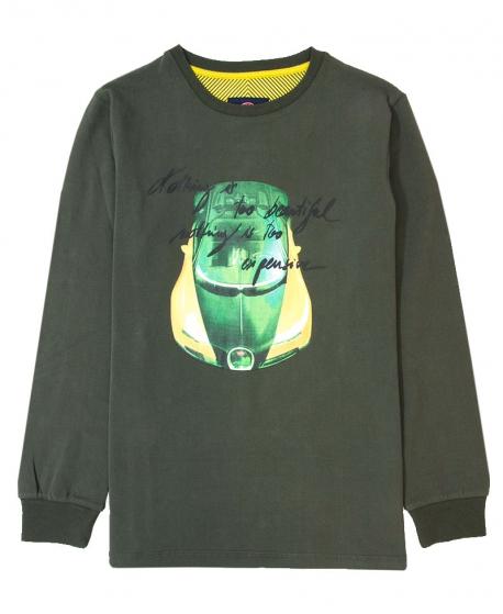 Camiseta Niño BUGATTI Caqui Too Beautiful