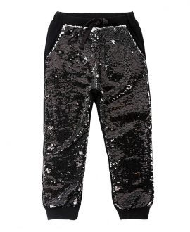 Pantalon Niña MISS GRANT Negro Lentejuelas