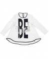 Camiseta Niña L:U L:U Acampanada Ribetes Contraste