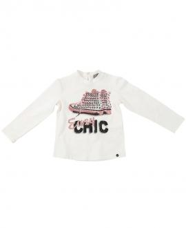 Camiseta Niña MICROBE Botas Easy Chic