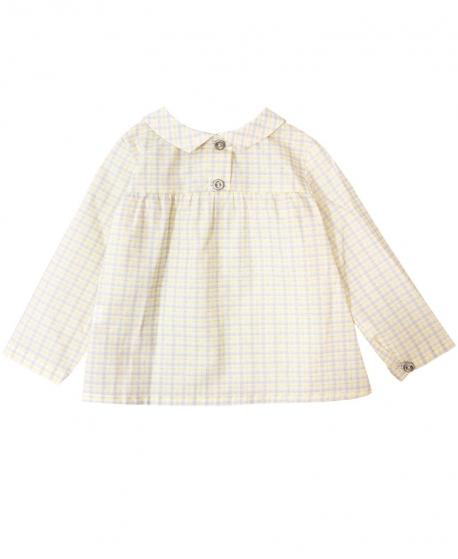 0058e65d622 Camisa Bebe Niño COSAN BABY Cuadros Amarilla - Ro Infantil