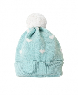 Gorro Bebe COSAN BABY Cashmere Pompon