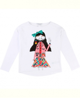 Camiseta Niña LITTLE MARC JACOB Multicolor