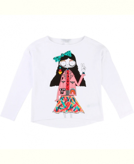 Camiseta Niña LITTLE MARC JACOB Multicolor