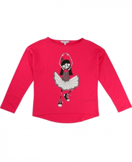Camiseta Niña LITTLE MARC JACOB Fuscia