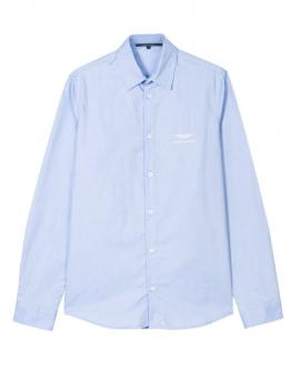 Camisa Niño ASTON MARTIN Manga Larga Azul