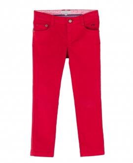 Pantalon Loneta Rojo NANOS Niño Algodón