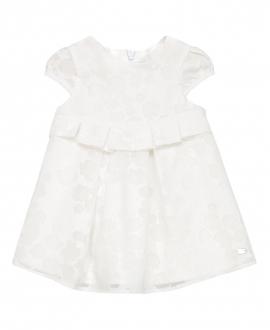 Vestido Bebe Niña TARTINE ET CHOCOLAT Blanco Pétalos