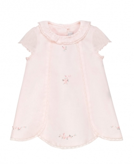 Vestido Bebe Niña TARTINE ET CHOCOLAT Rosa Bordado Floral