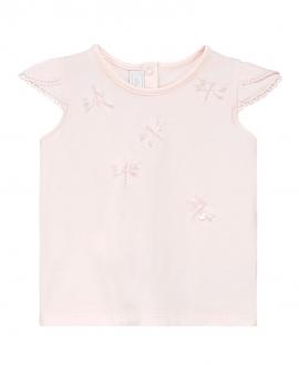 Camiseta Bebe Niña TARTINE ET CHOCOLAT Rosa Palo Libélula